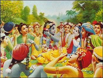 Entering Krishna&#8217;s Family