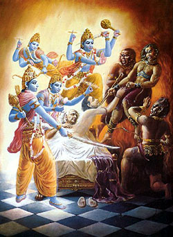 Disciple of Krishna or Disciple of Kali?