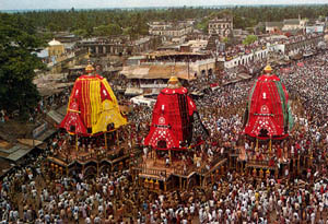Calcutta Ratha Yatra – The Biggest Ever
