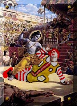Krishna, The Killer of Ronald McDonald?
