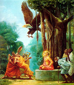 Lord Chaitanya Defeats the Buddhists