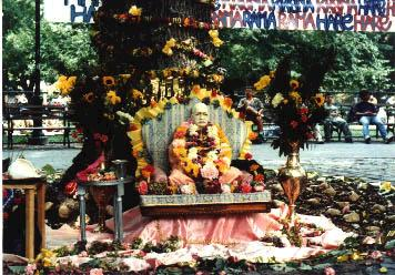 Prabhupada Celebration Festival at Tompkins Square Park New York