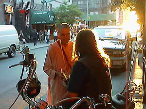 Prabhupada Sankirtana Society: Chanting Hare Krishna and Distributing Books In the Big Apple.