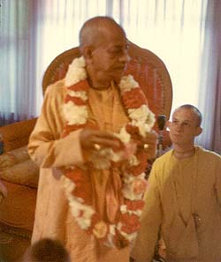 Srila Prabhupada's Direction of Management