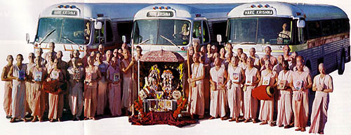 WHAT CAN TURN A GREYHOUND BUS INTO A TEMPLE?