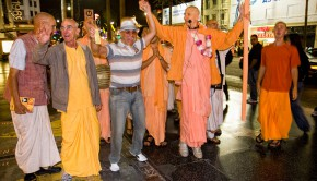 Harinama in Hollywood
