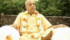 Srila Prabhupada Meditating in Bombay India