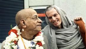 Srila Prabhupada and Hansadutta