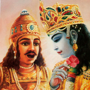 Arjuna is Krishna's Friend Eternally