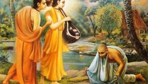 Narada Muni and Parvata Muni Visit Naradas Hunter Disciple who now does not want to kill even an ant