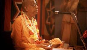 Srila Prabhupada playing kartals