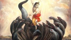 Krishna and Kaliya