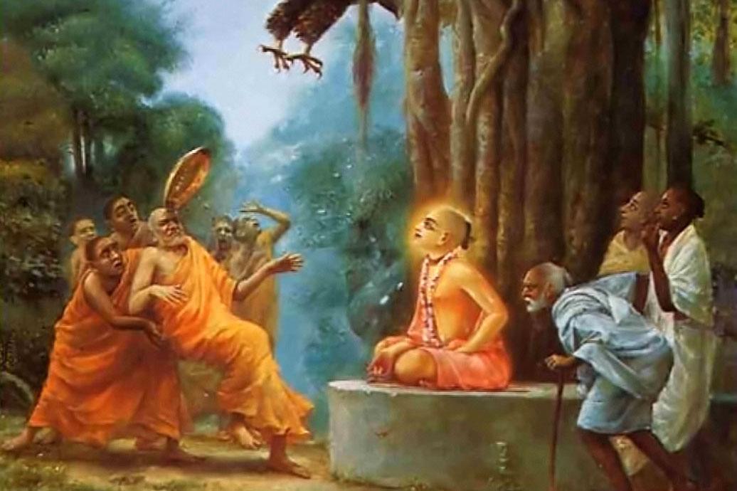lord chaitanya defeats the buddhists krishna org
