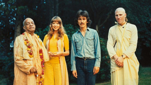 George Harrison and Srila Prabhupada