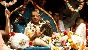 Prabhupada on Ratha Yatra Cart