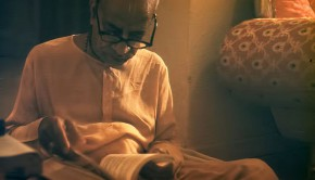 Srila Prabhupada Reading Bhagavad Gita As It Is