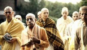 Prabhupada discusses sense gratification morning walk