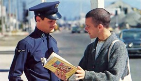 ISKCON Book Distributor Selling Bhagavad-gita to a Soldier