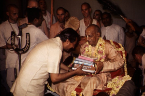 Tour the United States Distributing Prabhupada's Books!
