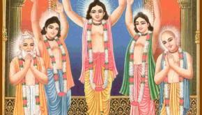 PancaTattva and Radha Krishna