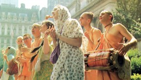 Hare Krishnas Chanting in the Seventies