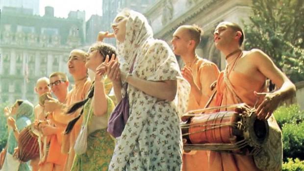 Hare Krishnas Chanting in the Seventies