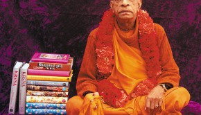 PrabhupadaWithBooks