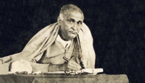 SrilaBhaktsiddhanta Sarasvati Thakur  at Ekayana Gaudiya Matha, Govindapur (1929)_1
