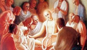 Lord Caitanya Teaches His Disciples