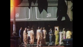 Hare Krishna Devotes Chanting on Street 1969