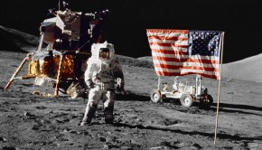 On the Moon with Moon Buggy