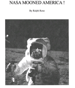 NASA Mooned America By Ralph Rene Cover of PDF Download Book