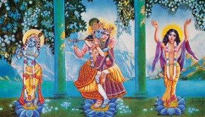 Lord Caitanya Mahaprabhu is Krishna in the mood of Srimati Radharani