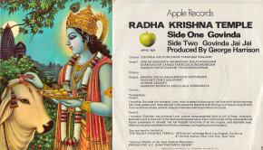 Govinda 45 RPM Single Record Cover Apple Records