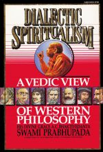 Dialectic Spiritualism &#8211; A Vedic View of Western Philosophy &#8211; PDF Download