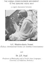 The Krishna Consciousness Movement is the Genuine Vedic Way PDF Download