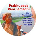 Prabhupada Vani Samadhi Microfiche from Bhaktivedanta Archives