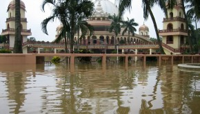 ISKCON Mayapur Flood 2006
