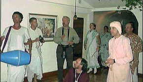 Kapindra Swami at Montreal Ritvik Temple