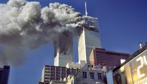 911 world trade center burning builings