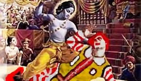 Krishna the killer of Ronald McDonald