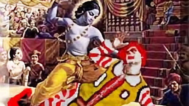 Krishna the killer of Ronald McDonald