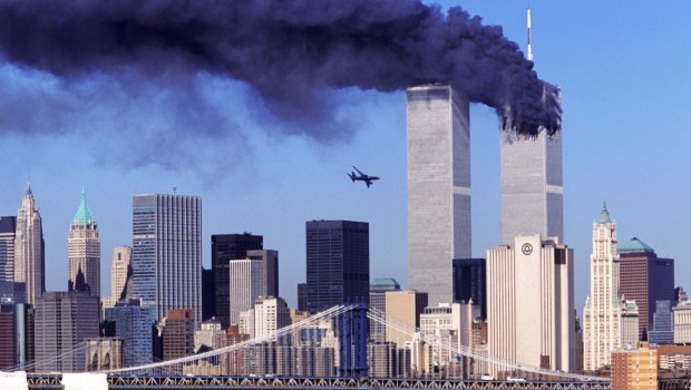 Second Plane Hitting the World Trade Center on Septermber 11 2001 911