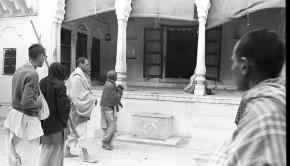 Srila Prabhupada at Radha Damodar Temple Vrindavan