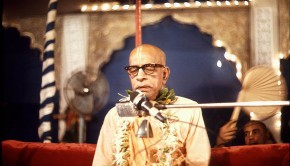Srila Prabhuapda Speaking
