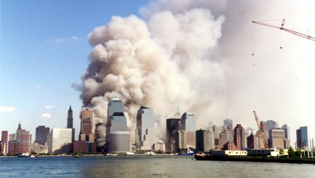 september 11 2001 buildings blowing up