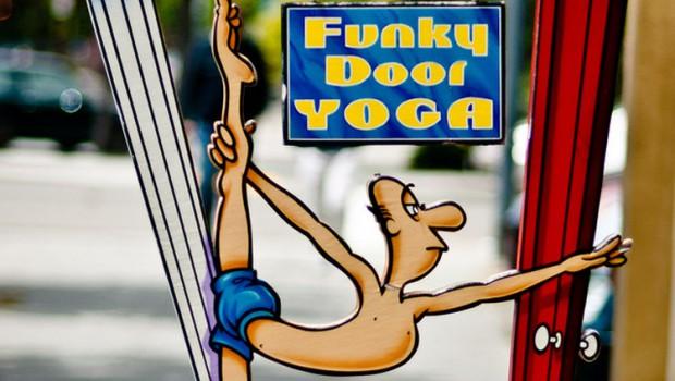 Funky Door Yoga