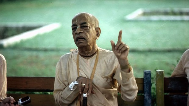 Srila Prabhupada makes a point