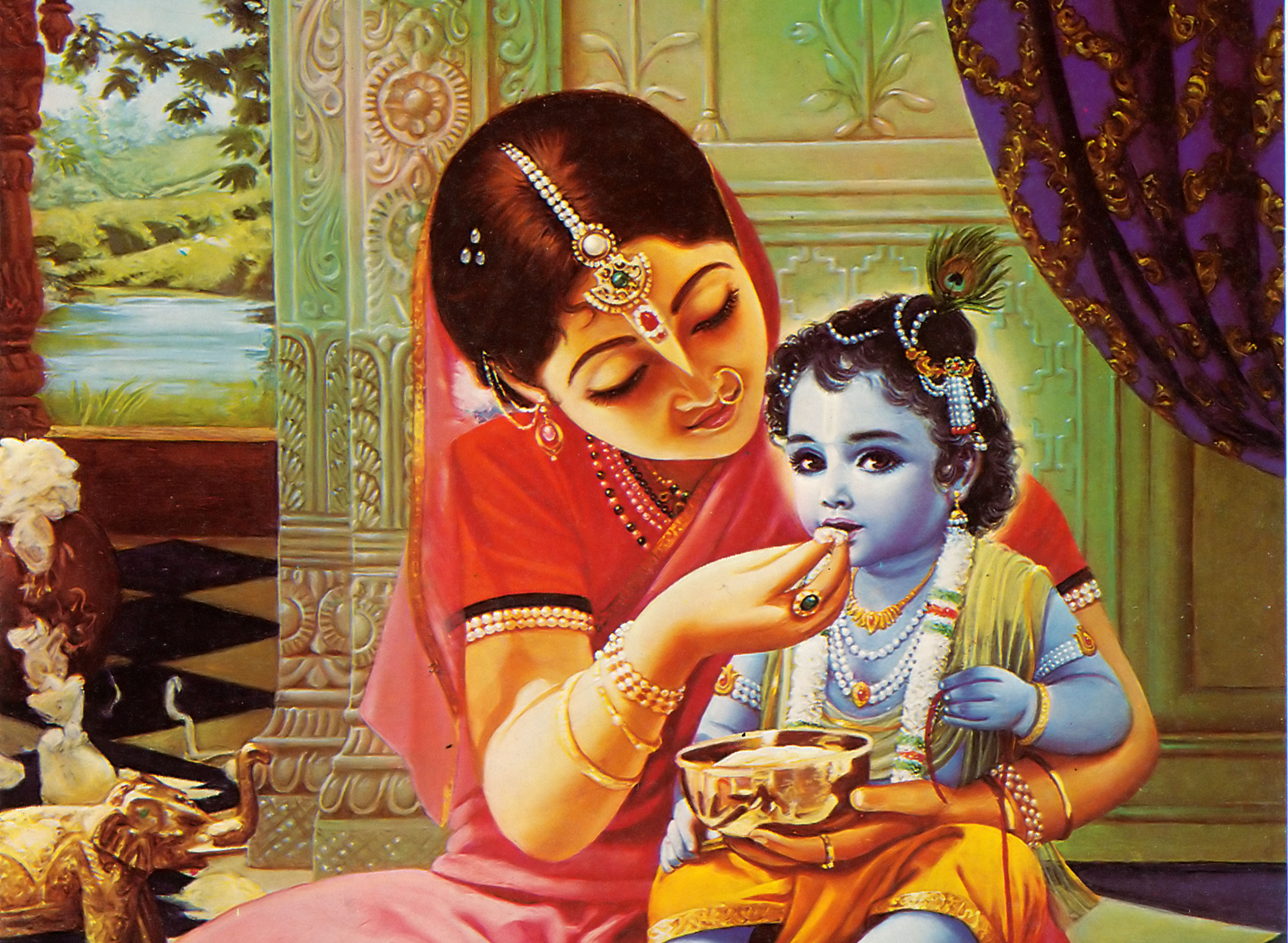 God Krishna Names With God | Krishna.org