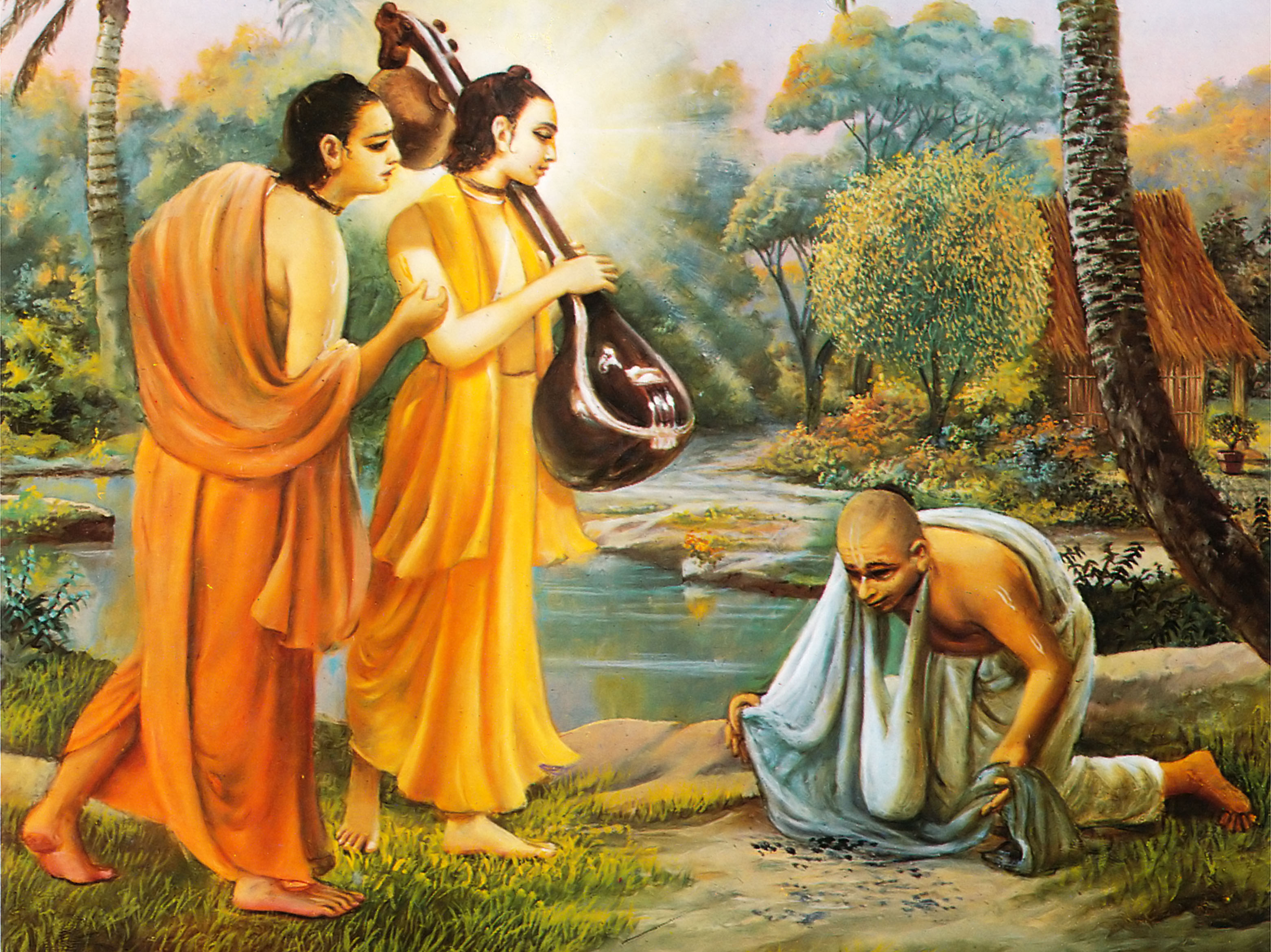 Sri Swami Samartha Full Hd Computer Wallpaper Dawlonod: Narada Muni And The Hunter